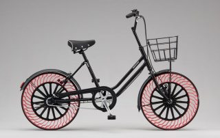 Bridgestone airless tire mobility at CES2020