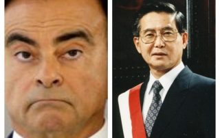 Japan, Carlos Ghosn and Alberto Fujimoro