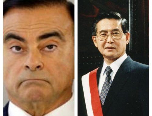 Japan, Carlos Ghosn and Alberto Fujimori