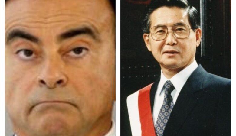 Japan, Carlos Ghosn and Alberto Fujimoro