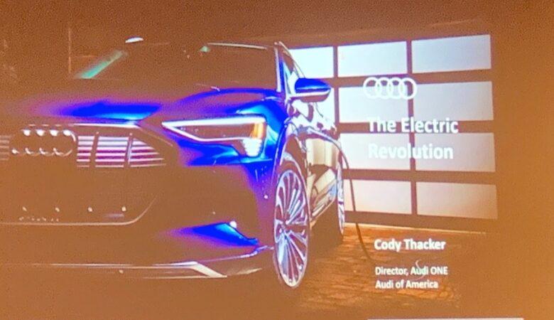 Audi Electrification CAS2020 Cody Thacker