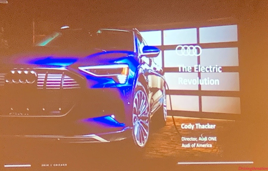 Audi Electrification CAS2020 Cody Thacker