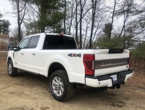 2020-Ford-F-350-Platinum-back-300x228 2020 Ford F-350 Platinum specs and pricing Ford