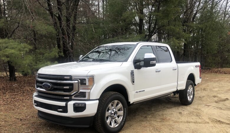 2020 Ford F-350 Platinum specs and pricing