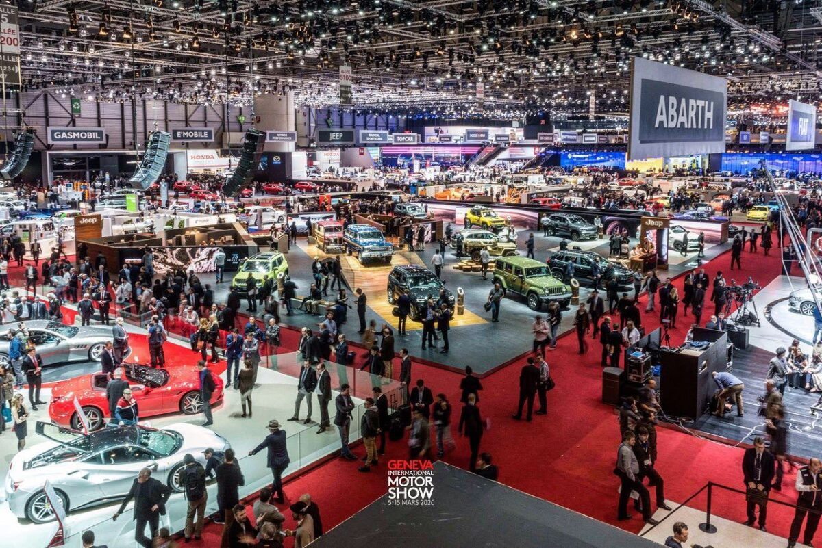 2020 Geneva Auto Show canceled