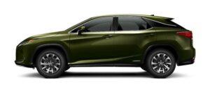 2020-lexus-rx450hl-nori-green-pearl-side--300x131 2020 Lexus RX450hL AWD SUV Lexus