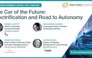 Reuters free Webinar: The Car of the Future: