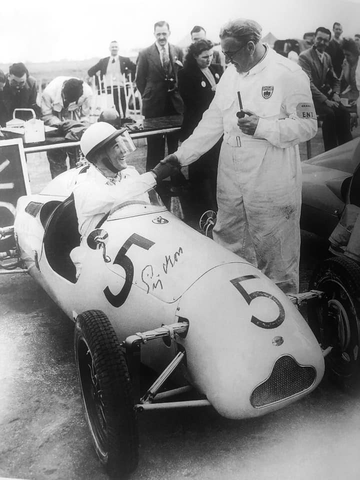 Memories of Sir Stirling Moss and Lady Moss