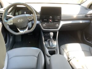2020-Hyundai-Ioniq-HEV-interior-300x225 2020 Hyundai Ioniq hybrid Review, Pricing, and Specs Hyundai