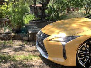 2020-Lexus-LC-500h-front-300x225 2020 Lexus LC 500h Review, Pricing, and Specs Lexus