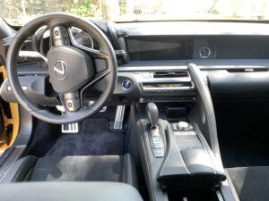 2020-Lexus-LC-500h-interior-300x225 2020 Lexus LC 500h Review, Pricing, and Specs Lexus