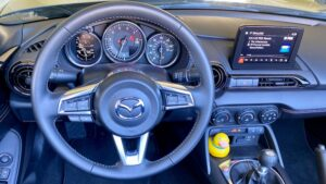 2020-Mazda-MX-5-Miata-Convertible-Roadster-steering-300x169 2020 Mazda MX-5 Miata Convertible Roadster Mazda