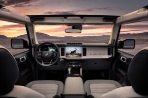 2021-ford-bronco-interior-300x200 2021 Ford Bronco all-New 4x4 Off-Road SUV Automobiles and Energy Ford