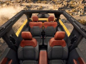 2021 Ford Bronco all-New 4x4 Off-Road SUV roof