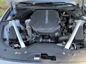 2020 Genesis G70 RWD 3.3 T engine