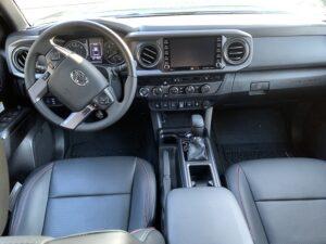 2020-Toyota-Tacoma-TRD-Pro-4X4-Double-Cab-interior-300x225 2020 Toyota Tacoma TRD Pro 4X4 Double Cab Toyota