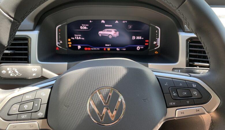 2020 VW Atlas Cross Sport 2.0T SEL mpg