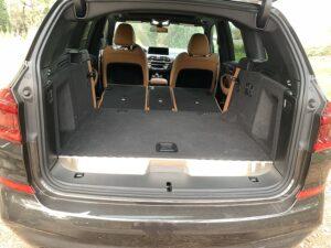 2020 BMW X3 xDrive30e PHEV cargo