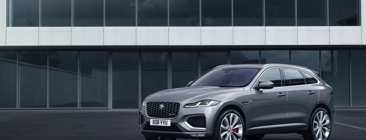 2021 Jaguar F-Pace Electrified SUV