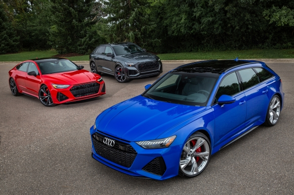 Audi's three tenors ~ RS 6, RS 7, RS Q8