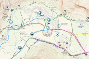 bike-path-yosemite-300x198 Park your car at Yosemite and bikeshare California Zero Emission Vehicles (ZEV)