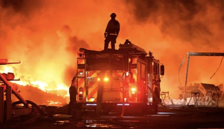 california wildfire fireman - california wildfires (Jose Carlos Fajardo/Bay Area News Group/San Jose Mercury News via AP)