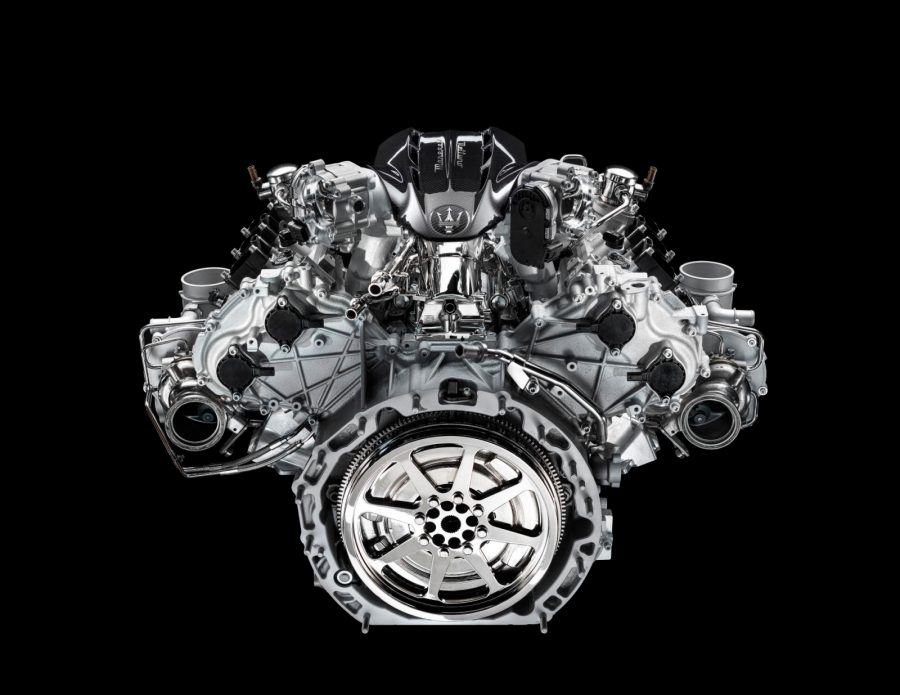 Maserati engine F1 technology for a road car