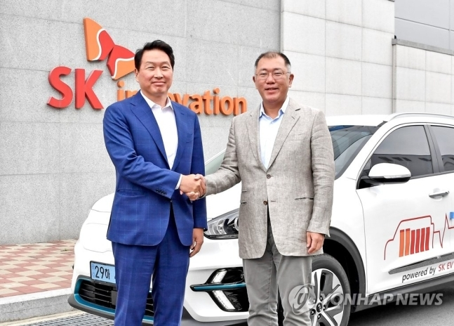 Hyundai  and SK ~ Battery as a Service (BaaS)