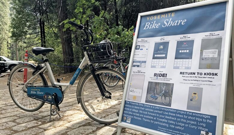 Yosemite bike share