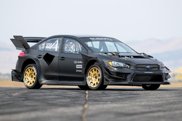 Subaru creates car for Pastrana Gymkhana video