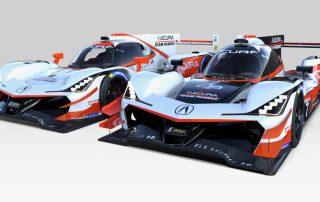 2019 Acura Team Penske ARX-05 Prototypes