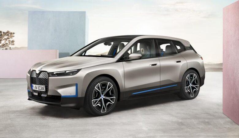 2022 BMW iX next EV SUV